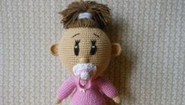 Игрушка амигуруми ′Малышка′