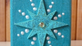Стакан для ручок та олівців ′Різдвяна зірка′