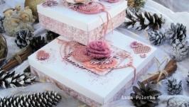 Набор подарочных коробочек