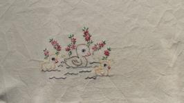 Банное полотенце с утятами