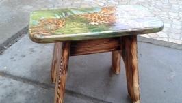 Дитячий стільчик ′Леопарди′