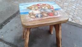 Дитячий стільчик ′Ведмедики′