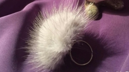 кольцо из натурального меха норки