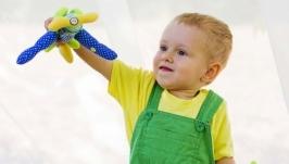 Текстильный «самолет » для мальчика