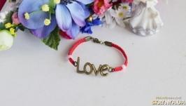 браслет love