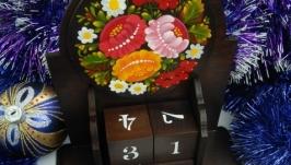 Вечный календарь ′Букет цветов′