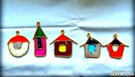 Витражные домики