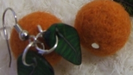 Серьги ′Апельсинки′
