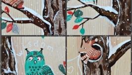 Картина - декор на стену от Fly Free ЭКСКЛЮЗИВ.