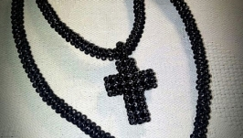 Крест из бисера