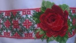 «Троянда» Спідниця бісером