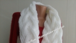 Снуд - шарф в 2 оборота