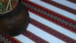 Скатертина в українському стилі ′′Барвиста′