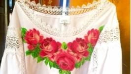 Вышиванка ,,Розы′