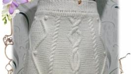 Вязаная юбка ′Жемчужина′