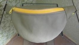 Поясная сумка с лимончиком