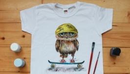 Детская футболка ′Совушка′