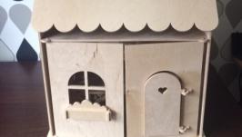 Кукольный домик габариты 59см-30см-43см