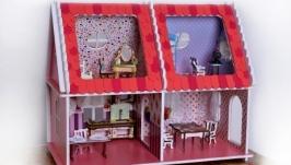Кукольный домик ′Розовый′
