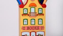 Підставка під канцелярію ′Книгарня′