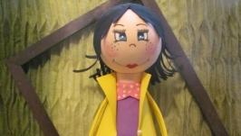Кукла из фоамирана ′Жюзель′