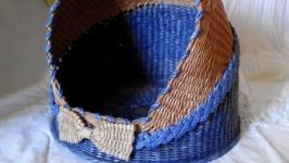 Плетеный домик ′Джентльмен′  для кота