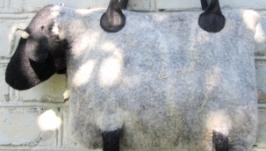 Валяна сумка ′Вівця′