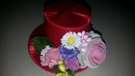 Мини-шляпка