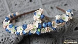 Ободок из полимерной глины ′Нежность′