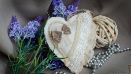 Сердечко из ткани