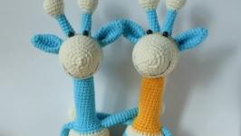 Вязаная игрушка ′Жирафик′
