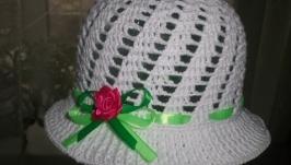 Шляпка з квіткою