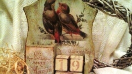 Вечный календарь *Птицы*