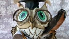 птица совушка,символ мудрости и знаний
