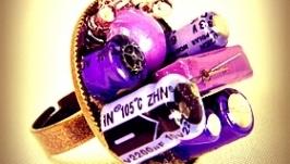 Кольцо ′Моя фиолетовая фантазия′
