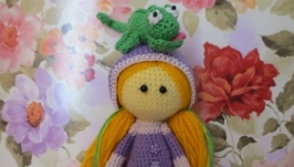 Кукла Рапунцель и Паскаль