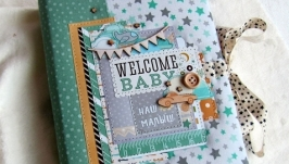 Мамин дневник,альбомоблокнот, бебибук.