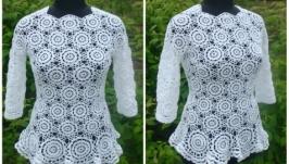 Блуза ′Цветочная поляна′