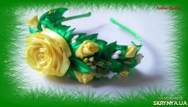 Ободок ′Роза в желтом′