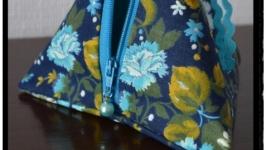 Берлинко Синее в цветы
