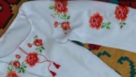 Дитяча вишиванка ′Троянда′