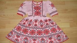 Детское платье-вышиванка на рост от 104 см