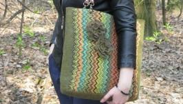 Валяная сумка