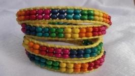 Браслет разноцветный
