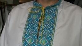Мужская вышиванка