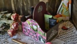 Короб для туалетного столика ′Роза′