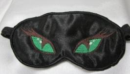 Маска для сна с вышивкой ′Пантера′
