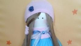 Милая, текстильная куколка