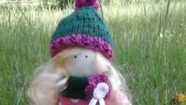 Кукла Тильда интерьерная, текстильная