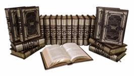 БИБЛИОТЕКА РУССКОЙ КЛАССИКИ (PERUGIA BROWN) В 100 ТОМАХ